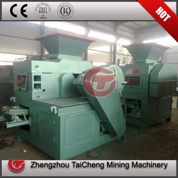 Advanced mechanical and hydraulic charcoal powder press briquette make machine