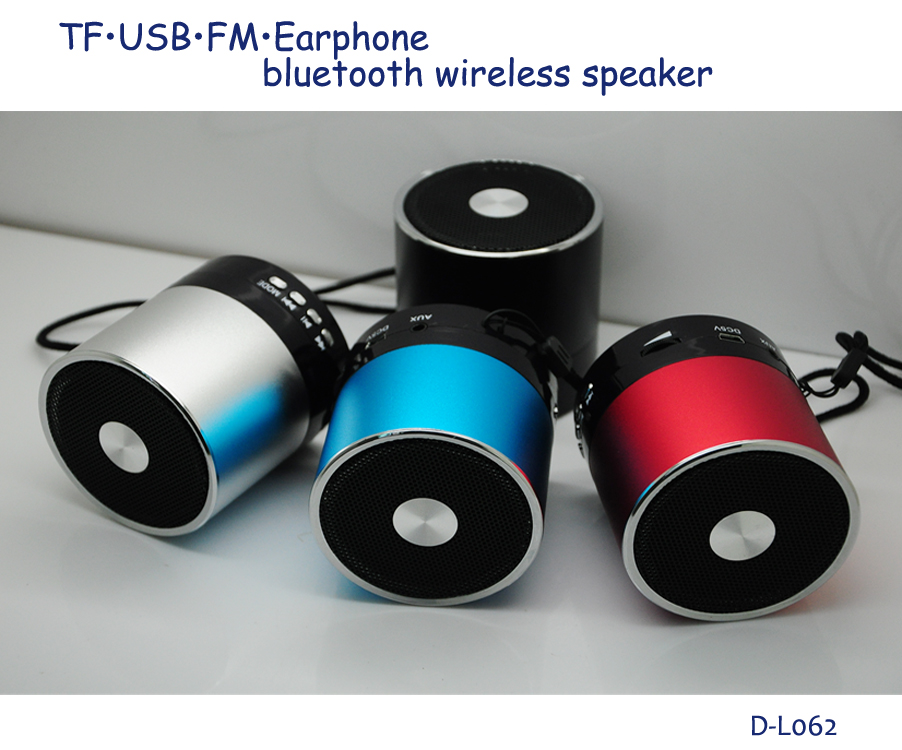 high quality portable USB mp3 player wireless music mini bluetooth dab computer speaker with FM aux input