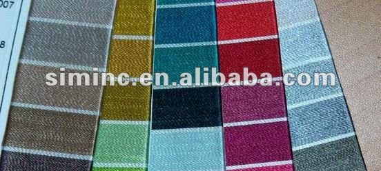 High quality sewing thread color shade card, sample yarn shade cards, customize color shade card