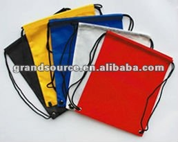 solid color drawstring nylon Bag