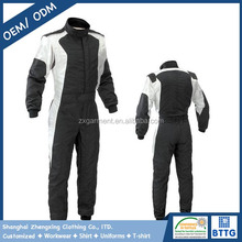 Comfortable and breathable 100%cotton FR outdoor recing suit coveralls
