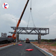 Q345B Steel structure Public pedestrian bridge / prefabricate landscape bridge for project