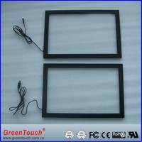 GreenTouch 15 inch IR touch screen frame, 2 points touch, for advertising
