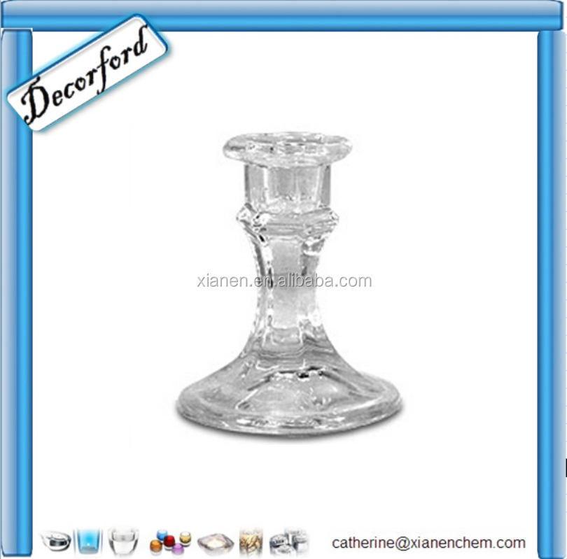 Hot Wholesale Handmade Tall Crystal glass candlestick - 009