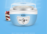 1.0L 15W small electrical yogurt maker machine with mechanial and 48h timer LED digital control
