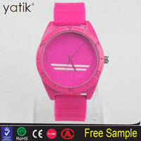 2015 Young lady fashion sport adi watches buy wholesale direct from china plastic bezel watches