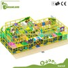 pvc material steel frame playhouses type kids indoor playground