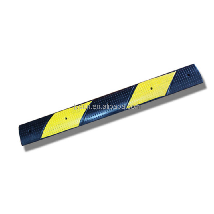 vehicle yellow portable speed bump speed bumps mini rubber speed hump