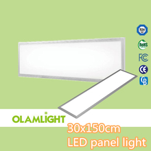 recessed or wall built-in 48w LED panel light 300x1500mm