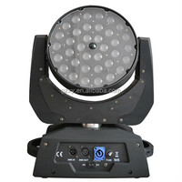 new disco light in China hot selling rgbw zoom 36pcs * 10W big dipper laser moving head light