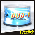 Leader disk 4.7gb 8x/16x blank dvd-r/blank dvdr/wholesale blank disc