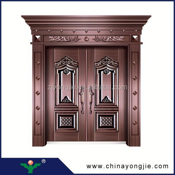 New design Surface decorative front double door