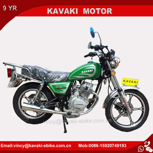 Guangzhou Motorcycle Factory GN125 Air-cooled Engine Diesel Two Wheelers Dirt Bike