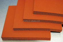 low hardness silicone foam/sponge rubber sheet