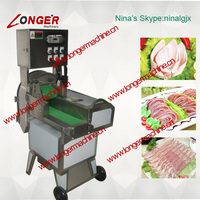 Double Frequency Pig Ear Slicer Machine|Meat Slicing Machine