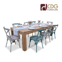 Wholesale Metal Chair With Wood Table