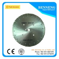 C-300D-3.2T Laser Welded Diamond Saw Blades for Concrete cutting