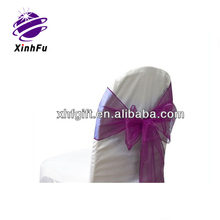 Beauty organza pageant sashes large supply cheap wholesale from XHF