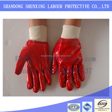 Oil-field mine site use labor protection gloves to prevent oil
