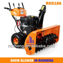 Engine snowblower