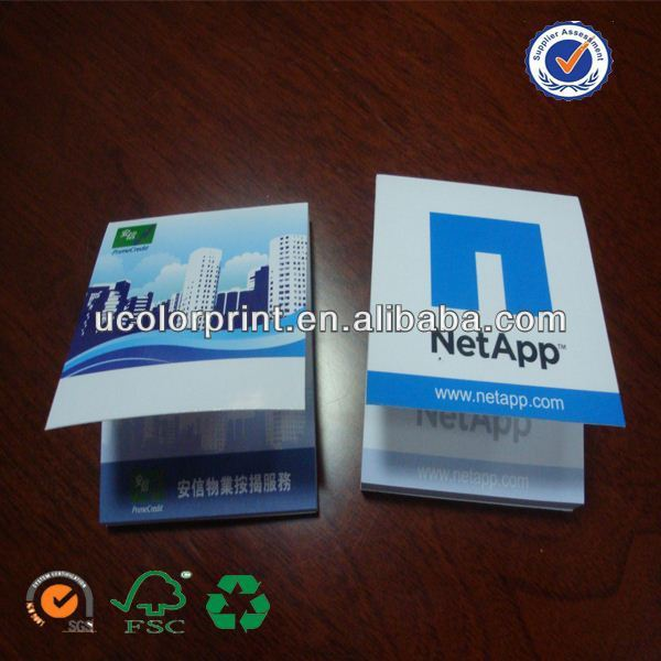 promotional calculator with memo pad made in china