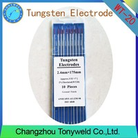 WT-20 2% Thoriated RED 2.4mm 3/32'' TIG tungsten electrodes