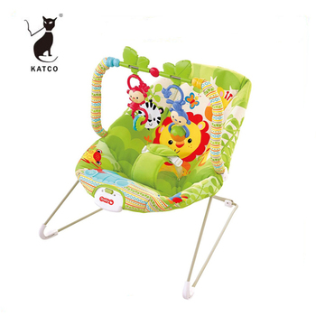Hot Selling Baby Chair Factory Musical Baby Vibration Rocking Chair With Hanging Toys