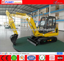 4.5Ton CE approved crawl excavator
