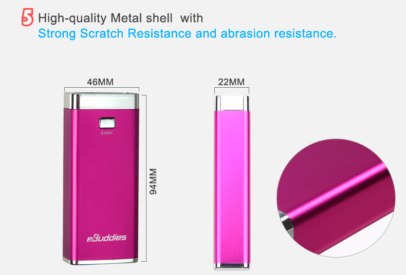 Party Gift Power Bank 5000MAH for Samsung Tab,Galaxy 2.1A output