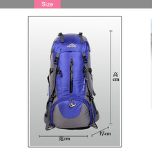 Wholesale unisex outdoor sport climbing bags hiking mountain backpack