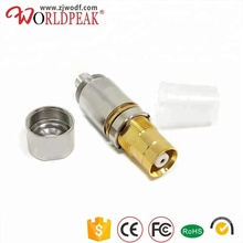 Electrical rf connector straight type 1.6/5.6 L9 female jack bulkhead clamp for BT3002 cable ST212 cable