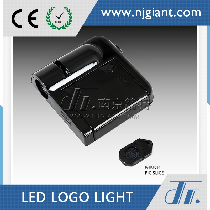 NJGIANT Wireless Full Color Ground Projector Auto Logo Welcome Led Car Door Laser Light