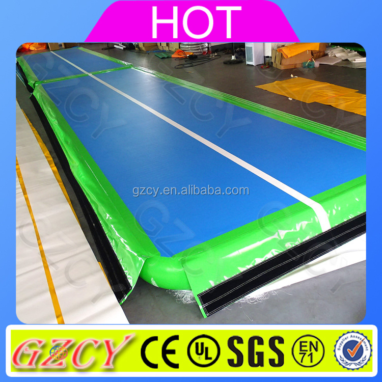 Top sale!!inflatable airtracks/ inflatable air tumble track/inflatable gym mat