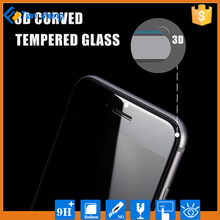2015 new products 3D curved full covered tempered glass screen protector for iphone 6