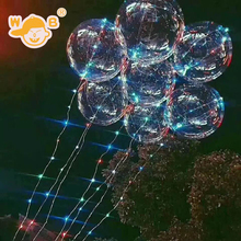 Widely Used LED BoBo balloon lights birthday decoration Bobo ballon Wedding Party