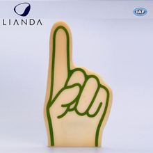 Perfect giveaways for team events custom red foam fingers, colorful cheering foam hand, foam cheering hand sponge