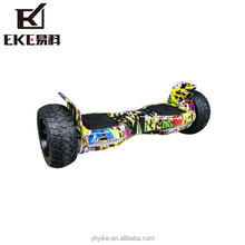 Yike electric 9 inch hoverboard fat big tire scooter