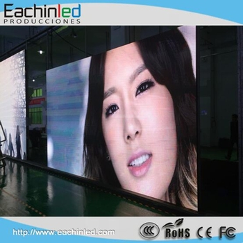 Hot selling !full color sexy P3.9/p4.81 curtain glass led video wall screen display