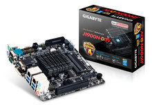 GigaByte MINI-ITX Baytrail motherboard GA-J1900N-D3V built in Intel Celeron J1900 quad-core,2*SO-DIMM,USB3.0,DVII/VGA,2*LAN,