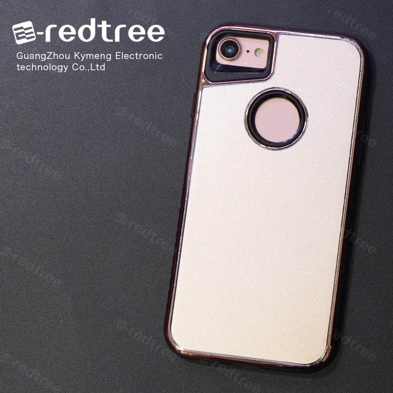 [E-redtree]2016 new aluminum metal housing phone bumper case cover for iphone 7 cover