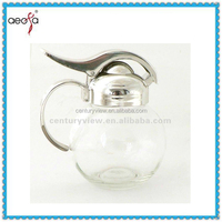 pot shaped cooking oil bottle size