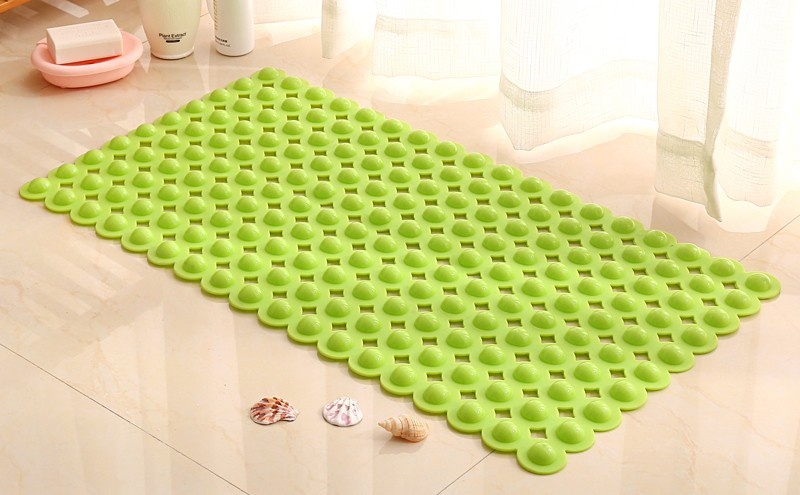 Beixiduo PVC Anti- Slip Bath Mat Massaging for Gel Circles Help Circulate Your Blood and Gives a Spa Good Feeling