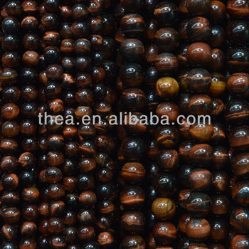 Charming natural stone for jewelry making red tiger loose beads like the shower curtain alibaba express