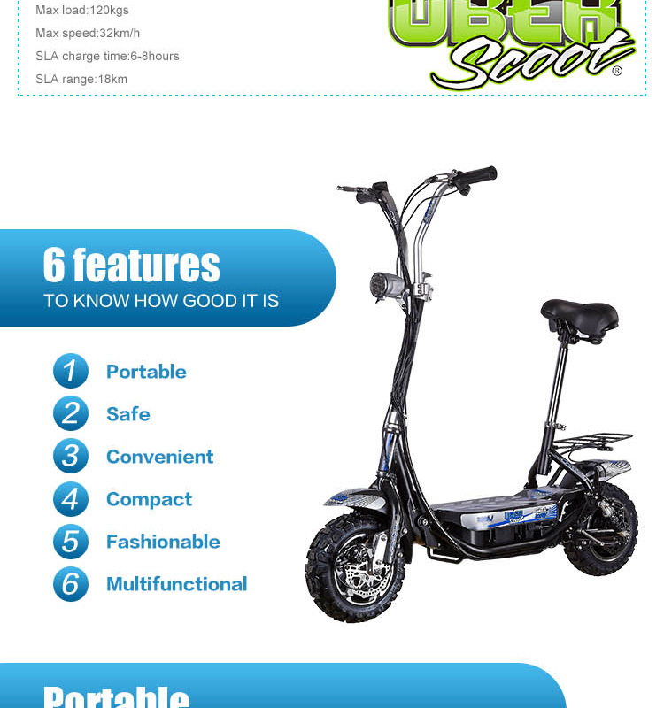 Manufacturer Supply CE Approved 800W Foldable Mini Electric Scooter