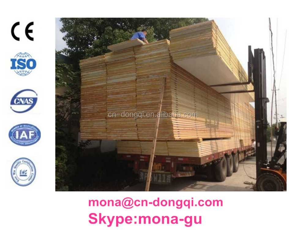 low price used pu sandwich panel for solar cold room