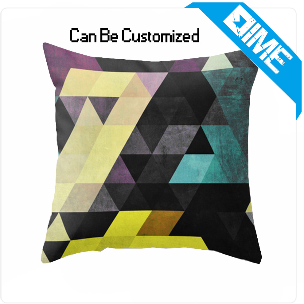 2016 Custom Logo Cushion Cover Chair Sofa Creative Cute Car Seat Cushion Pillow Cover