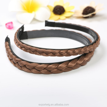 Beautiful Braid Hair Band With Elastic Hairband Fashion Women Headband Hoop Accessory Hot Sale Head Jewelry