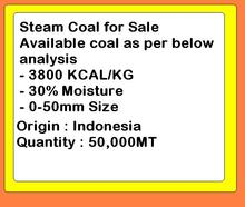 Steam Coal Available on CIF Terms