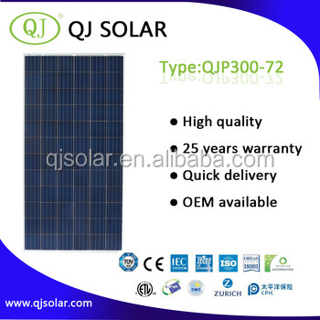 300W Monocrystalline silicon solar panel flexible