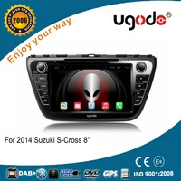 ugode 7 inches In-dash android car dvd for Suzuki SX4 S-Cross 2014 car autoradio with WiFi bluetooth gps